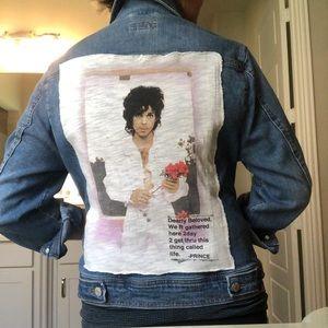 Custom Jean Jacket with Prince